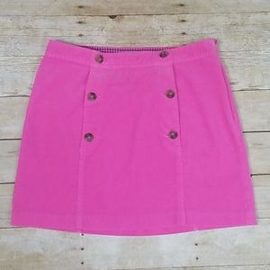 Vineyard Vines Pink Cord Sailor Skirt
